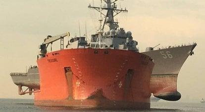 和平时期的舰队。 美国审计署为海军发现新问题