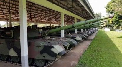 VT-4坦克的出口成功(中国)