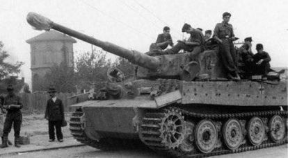 탱크. 벨기에 전투