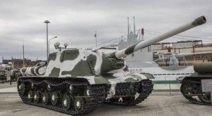 武器についての物語。 ISU-122:最前線の兵士の困難な道