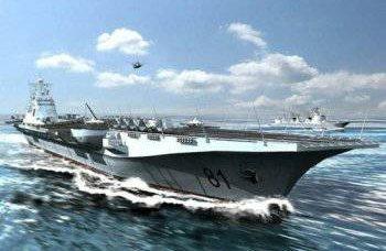 O primeiro porta-aviões chinês poderá ir ao mar para testes já este ano.