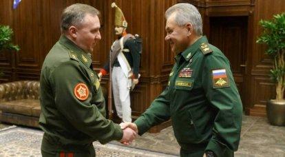Rusia y Bielorrusia acordaron abrir tres centros de entrenamiento para el entrenamiento conjunto de militares