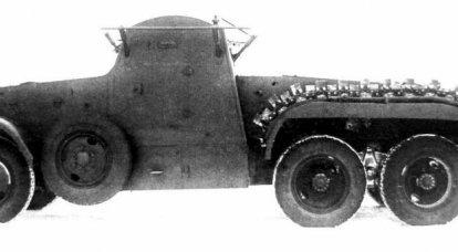Auto blindata chimica KS-18