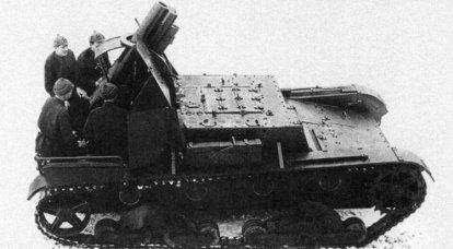 第二次世界大戦の自走榴弾砲。 SU-5(1の一部)