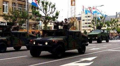 लक्ज़मबर्ग सेना ने बख़्तरबंद वाहनों के बेड़े का आधुनिकीकरण करने का निर्णय लिया