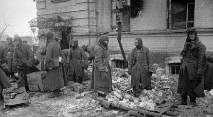 """""""Los alemanes son prisioneros en el sitio de construcción ..."""" El destino de los conquistadores fallidos"""