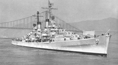 戦闘船。 巡洋艦。 魅力的な誤解