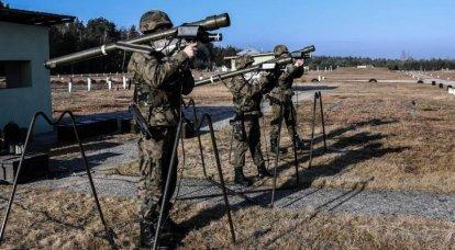「手動」防空システム 8の一部 MANPADS Grom