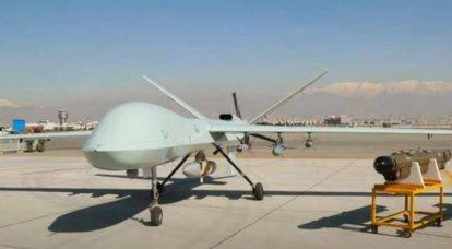 イランが新しいカマン-22強攻撃ドローンを発表