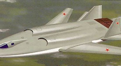 "Theme ""B-90"". Projects of promising bombers from the Sukhoi Design Bureau"