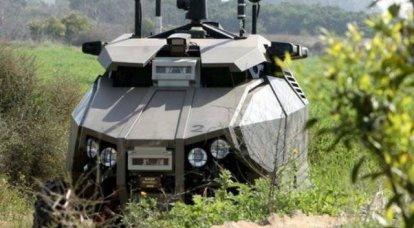 以色列无人驾驶车辆Guardium