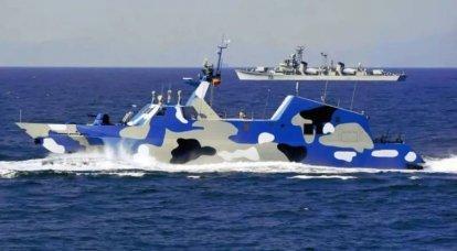 """Catamarans-fusées de Chine """"Type 022"""""""