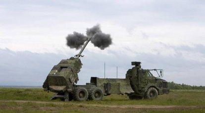 ノルディックサンダー:北ヨーロッパのモバイル砲