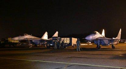 塞尔维亚空军补充了白俄罗斯转让的第一对米格29战斗机