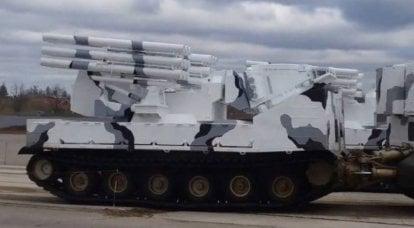 北极舰队的Pantsir-SA防空导弹系统试射在北极
