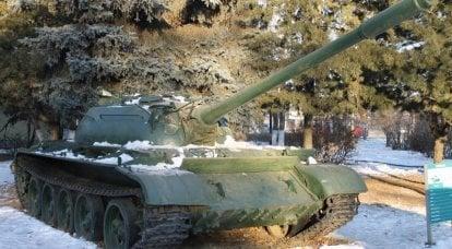 T-55についてのバラード。 誕生…