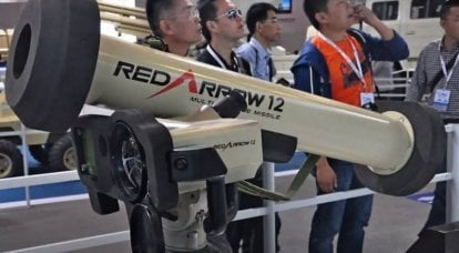 Algeria was the first Chinese clone of the American ATGM Javelin