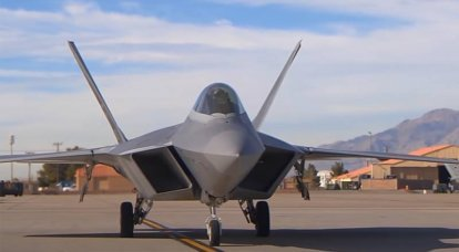 In the United States, speculations are being made about the reasons for raising F-22 fighters from Pearl Harbor airbase into the air outside of training flights.