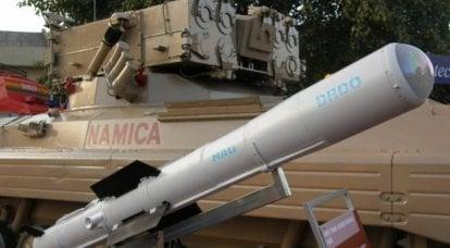 """""""Disparo - olvídate"""": India completó las pruebas del ATGM Nag de tercera generación"""