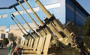 """伊朗已加入防空部门的高射炮""""赛尔""""。"""