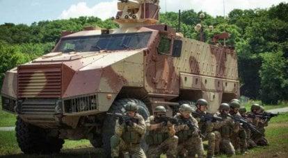 NEXTER的TITUS装甲车在中东进行了测试