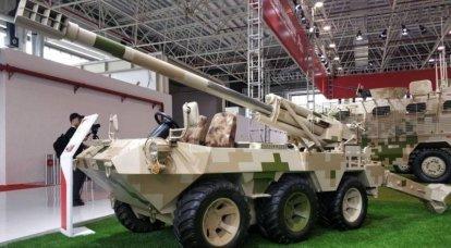 La famiglia di macchine NORINCO Lynx CS / VP16B 6x6. SAU e MLRS su un telaio leggero
