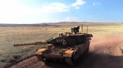 土耳其开始测试家用坦克的火控系统