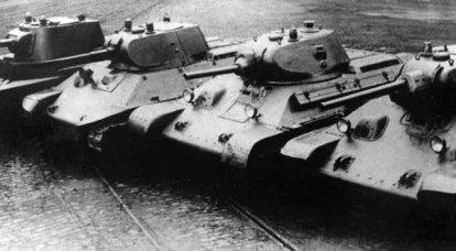XNUMX代の結果によると。 戦前の赤軍の装甲艦隊の状態