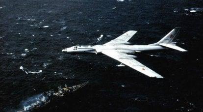 远程轰炸机TU-16
