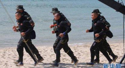 Çin'in özel kuvvetleri: Donanmanın özel operasyon güçleri