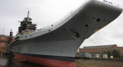 ロシア海軍の有望な空母の技術プロジェクトは、2010 gの終わりまでに準備ができています