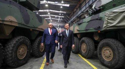 """El presidente polaco se familiarizó con la noticia del equipo militar """"panzer"""""""