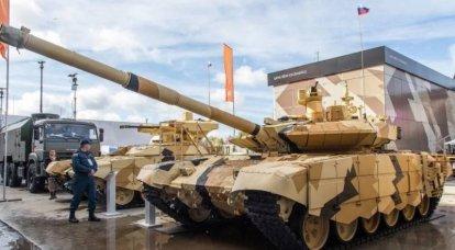 ロシアはミンスクでの展示会で近代的な戦車やその他の装甲車両を発表します
