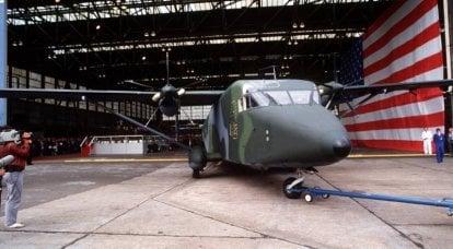 利基型飞机。 短C-23夏尔巴人