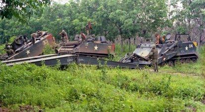 Trasporto truppe corazzato M113: test a Kubinka e confronto con BMP-1