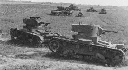 死の行進。 ドゥブノでの戦車の戦い-ブロディ地域
