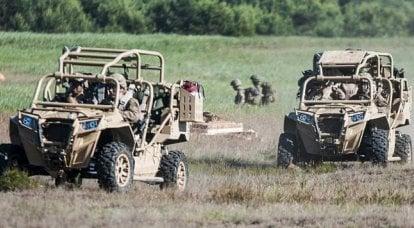 轻型车不仅适用于特种部队