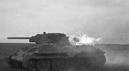 タンクマンは燃えているタンクから抜け出す方法を教えました