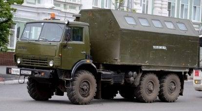 KamAZ-4310: il leggendario esercito di veicoli fuoristrada dell'esercito