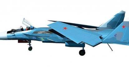 Progetto Su-27KM. Spazzata inversa per una portaerei