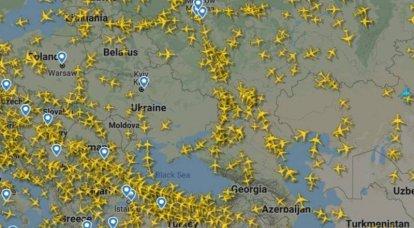 """बेलारूस का हवाई क्षेत्र हवाई परिवहन मानचित्र पर """"रिक्त स्थान"""" नहीं बन गया है"""