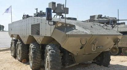 その種の最初の。 BTR「エイタン」はシリーズに入ります