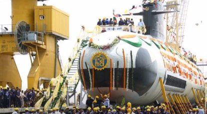 Indian Defense Ministry announced a tender for the construction of six non-nuclear submarines with VNEU