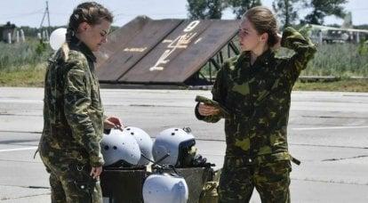 """""""Pour la première fois dans un combattant sera la jeune Frau"""": la presse allemande sur l'apparition des femmes dans l'armée de l'air russe"""