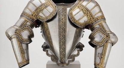 Knight's zırh ve Chicago Sanat Enstitüsü'nden silahlar