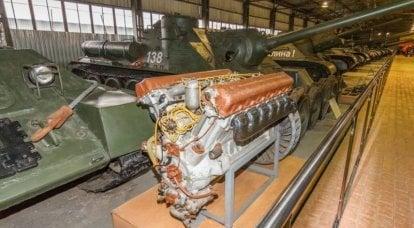 Tank dizel V-2: geliştirme ve Aberdeen Proving Ground