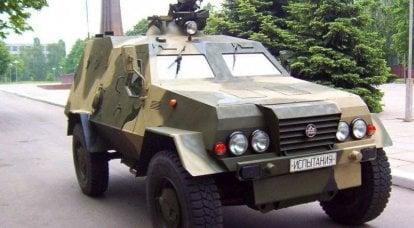 基辅装甲修理厂将生产Dozor-B装甲运兵车