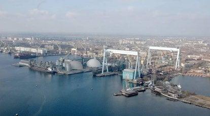 切尔诺莫尔斯基造船厂:现在