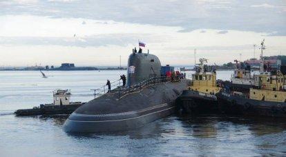 ロシア艦隊のための「灰」