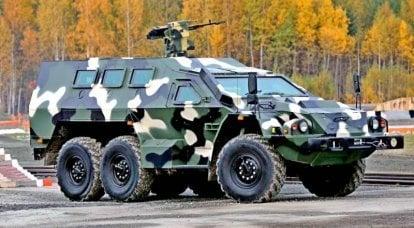 """Zırhlı araç SBA-60-К2 """"Bulat"""". İnfografikler"""
